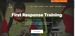 WordPress web design for Oscar Charlie Bespoke Training