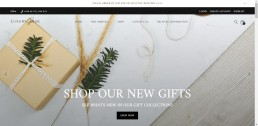 Shopify Web Design for Luxury Gifts UK
