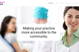 WordPress web design for Smart Care