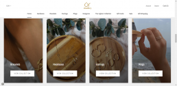 Shopify web design for Or Jewellery
