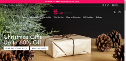 Shopify web design for Fab Gifts Co