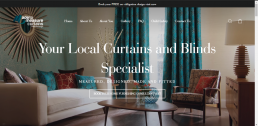 Shopify web design for Made to Measure Curtains Peterborough